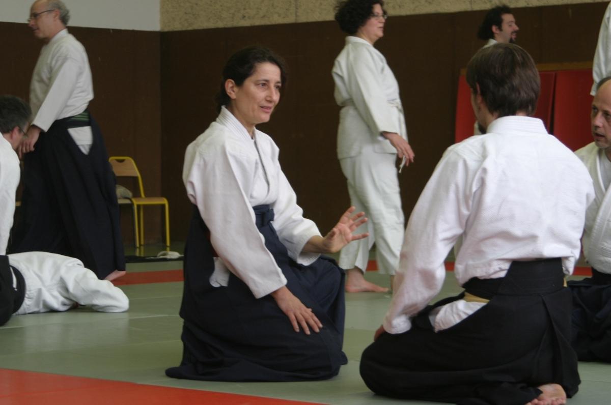 Enseignante Aïkiryu Isabelle Abelé